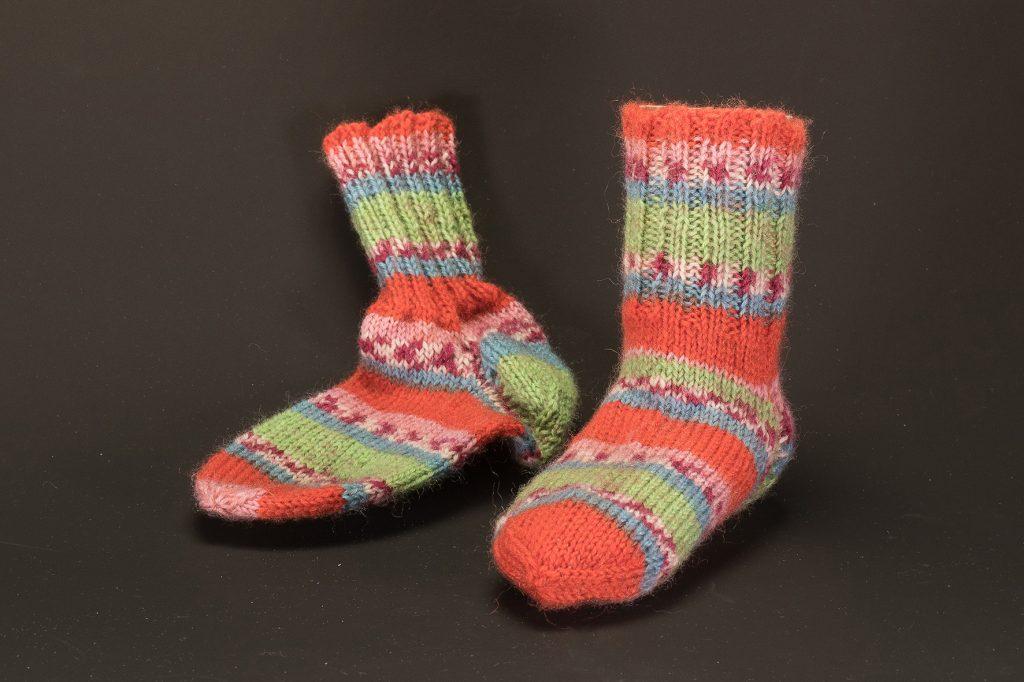 Socken Grösse 22/23 € 16,50 75% Öko Schurwolle 25% Polyamid