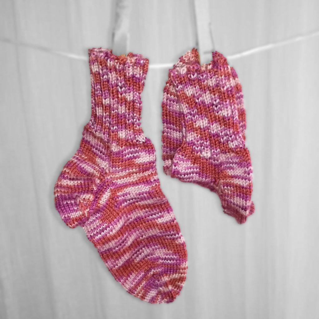Socken Grösse 30/31 € 21,-- 75% Öko Schurwolle 25% Polyamid