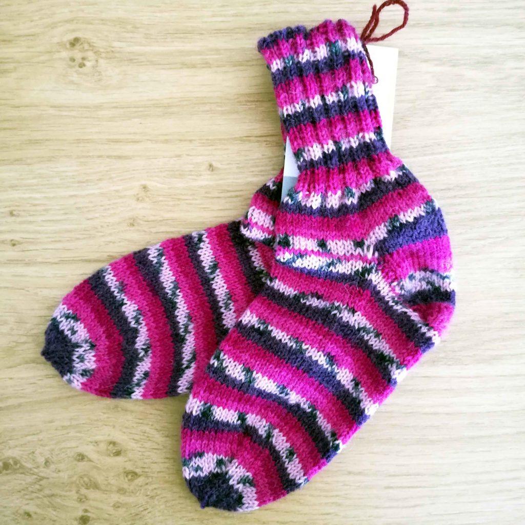 Socken Grösse 29/30 € 21,-- 75% Öko Schurwolle 25% Polyamid